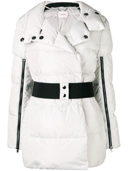 Белое пуховое пальто с капюшоном Dorothee Schumacher