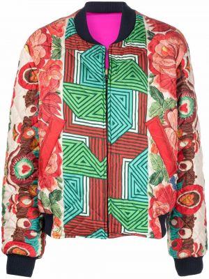 Красная куртка с принтом Pierre-louis Mascia