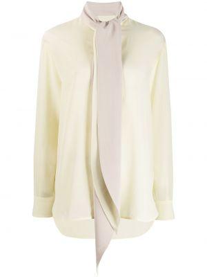 Bluzka z długim rękawem długa plik wsadowy Givenchy
