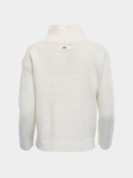 Белый акриловый свитер Mexx