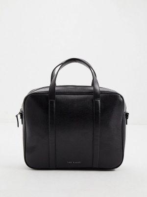 Кожаная сумка - черная Ted Baker London