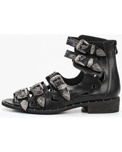 Сандалии черные Ws Shoes