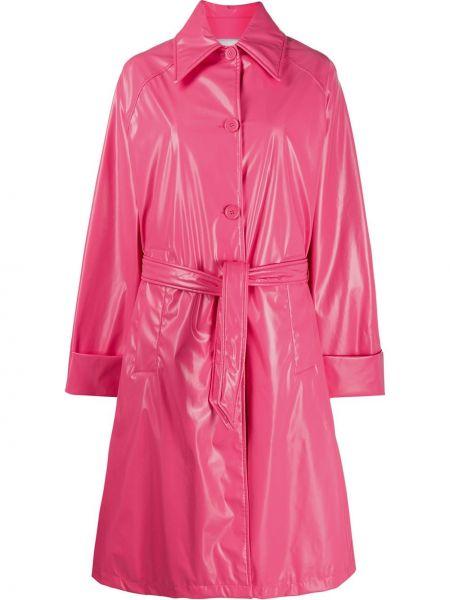 Пальто розовое пальто-тренч Mm6 Maison Margiela