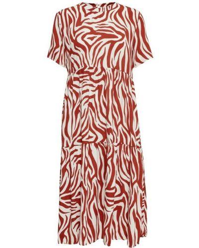 Czerwona sukienka Jacqueline De Yong