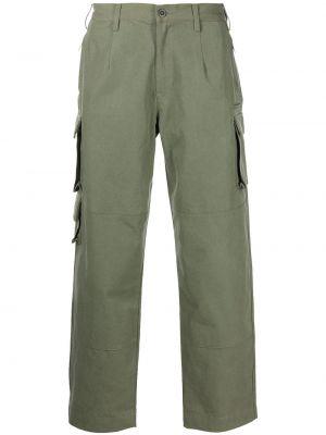 Spodnie bawełniane - zielone John Elliott