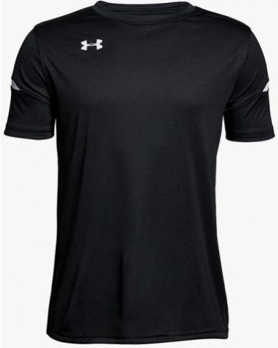 Черная футболка спортивная Under Armour