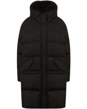 Куртка черная на овчине Lempelius