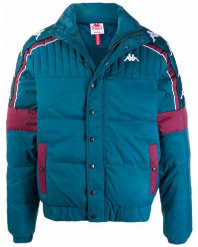 Длинная куртка с нашивками с логотипом Kappa