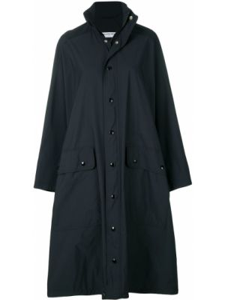 Płaszcz przeciwdeszczowy długo z kieszeniami Balenciaga