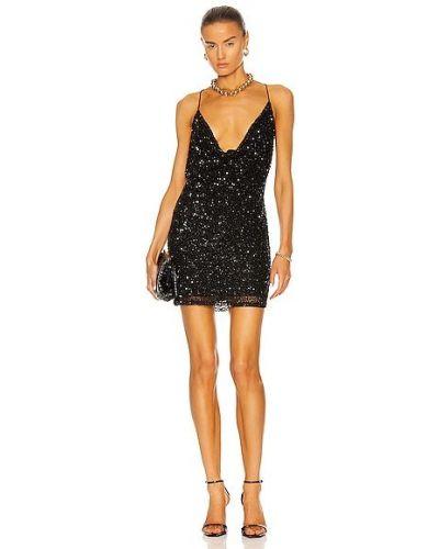 Кружевное платье - черное Retrofete