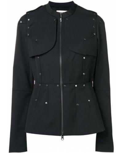 Черная длинная куртка A.f.vandevorst
