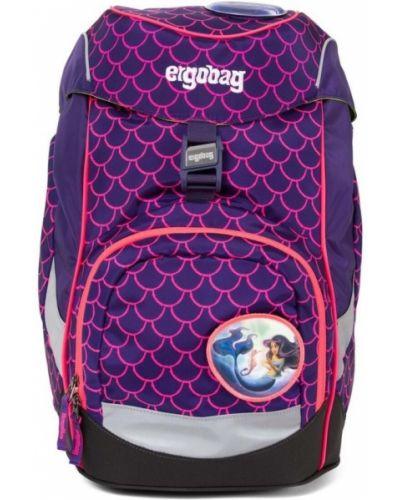 Różowa torebka worek materiałowa szkolna Ergobag