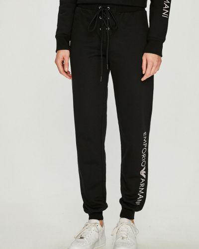 Спортивные брюки на резинке свободные Emporio Armani