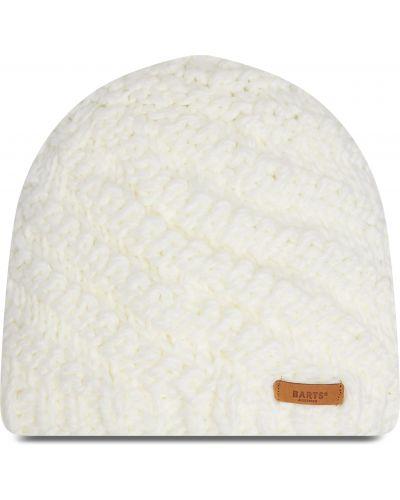 Biała czapka z akrylu Barts