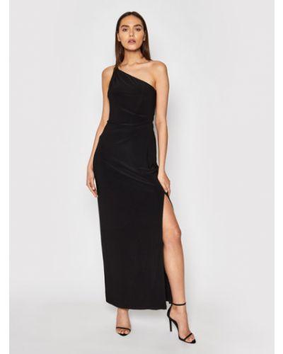 Czarna sukienka wieczorowa Lauren Ralph Lauren