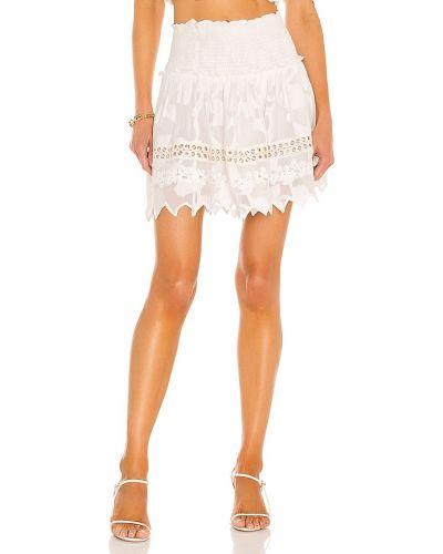 Повседневная белая юбка из вискозы Hemant And Nandita
