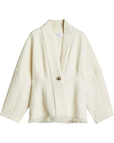 Biała kurtka wiosenna Rodebjer