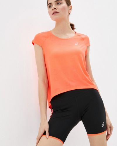 Оранжевая спортивная футболка Asics