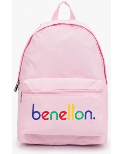 Розовый рюкзак United Colors Of Benetton