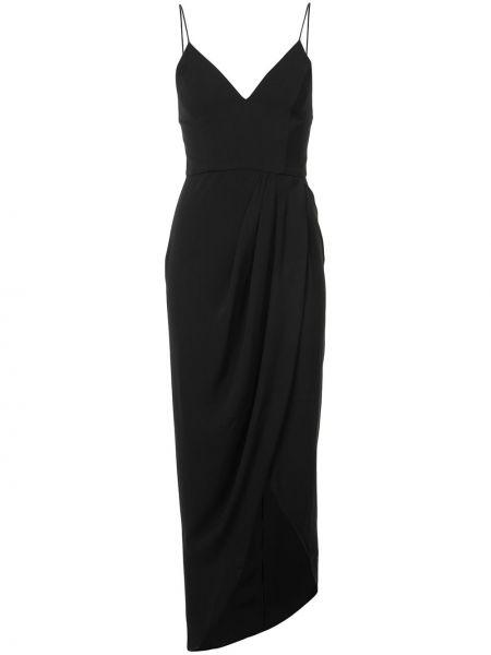 Приталенное тонкое платье миди с запахом на молнии Shona Joy