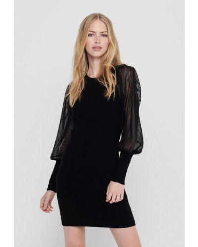Черное платье-футляр Only