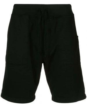 Черные спортивные шорты с карманами Save Khaki United