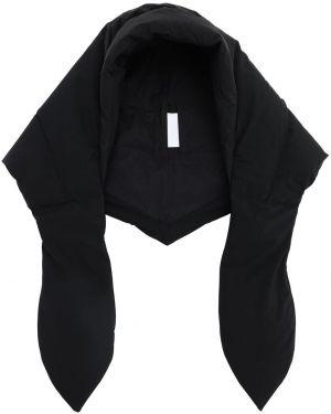 Czarny kapelusz z kapturem Ienki Ienki