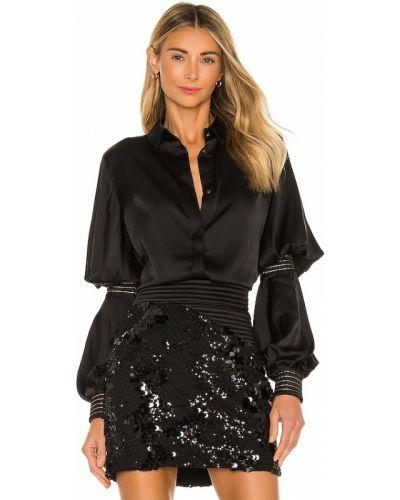 Czarna bluzka Zhivago