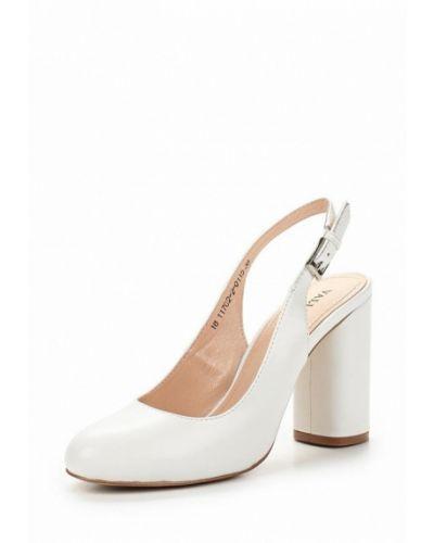 Белые туфли с открытой пяткой Valley