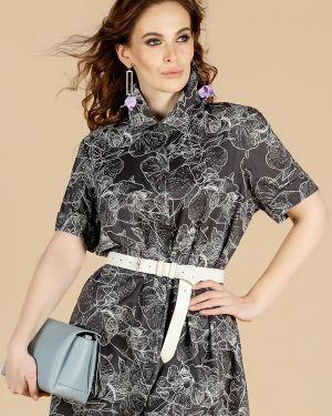 Платье с поясом на пуговицах платье-сарафан Eliseeva Olesya