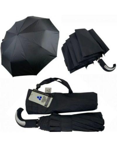 Серебряный автоматический зонт Uni