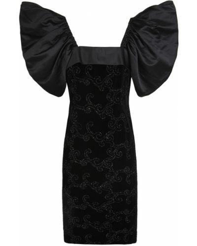 Платье с люрексом с бабочками Estevez Vintage