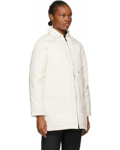 Długi płaszcz - biały Carhartt Work In Progress