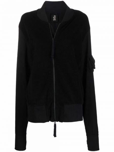 Черная куртка из полиэстера Thom Krom