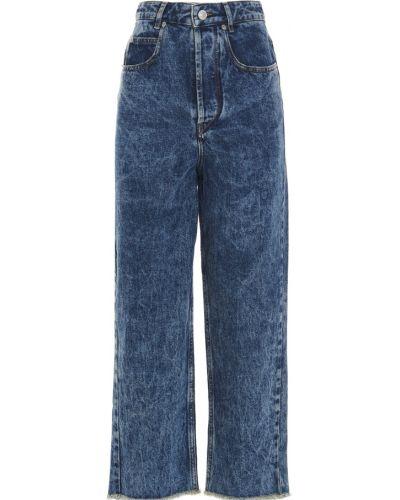 Spodnie - niebieskie Isabel Marant Etoile