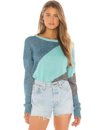 Sweter bawełniany - niebieski Wildfox Couture