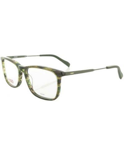 Zielone okulary Hugo Boss