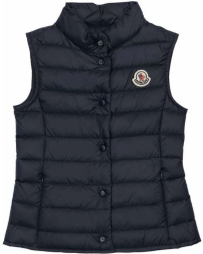 Нейлоновая жилетка с подкладкой на кнопках Moncler
