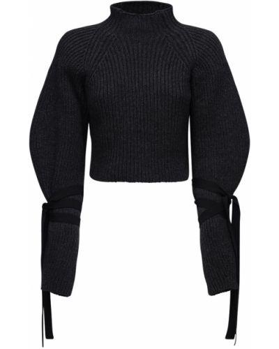 Prążkowany sweter wełniany Ellery