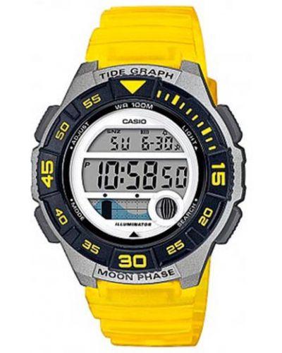 Żółty zegarek Casio
