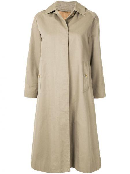 Długi płaszcz klasyczny z kapturem Burberry Pre-owned