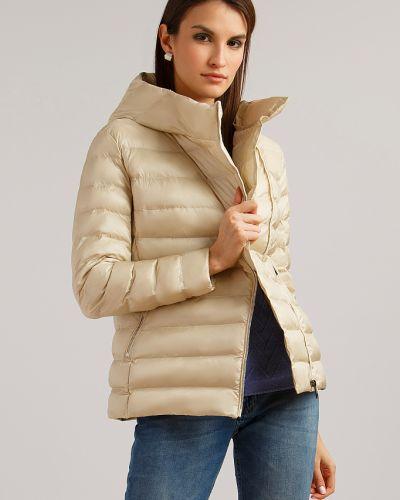 Утепленная куртка нейлоновая с подкладкой Finn Flare