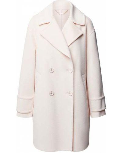 Biały płaszcz wełniany Marc Cain