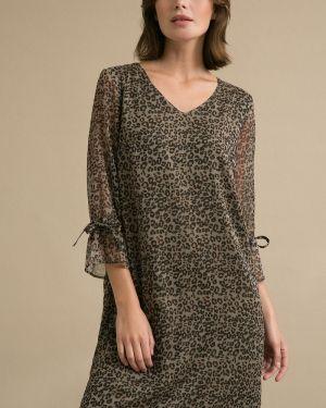 Платье с V-образным вырезом платье-сарафан Emka