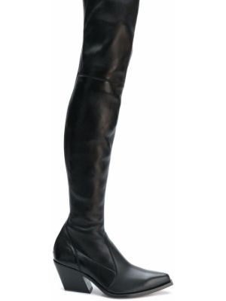 Kozaki za kolano - czarne Givenchy