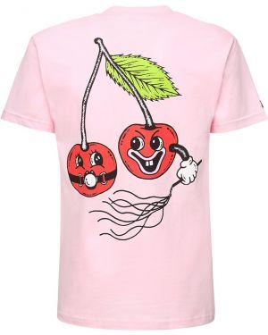 Czerwony t-shirt bawełniany 1800-paradise
