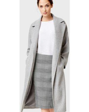 Пальто с запахом шерстяное Ostin