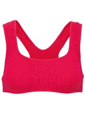 Текстильный розовый топ Tropic Of C