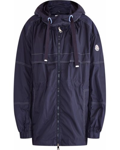 Куртка с капюшоном нейлоновая с кокеткой Moncler