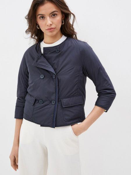 Утепленная синяя куртка Add